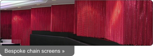 Bespoke Chain Screens