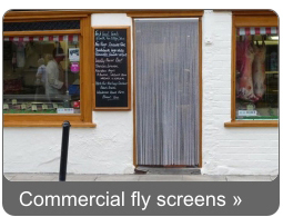 Commercial Fly Screens